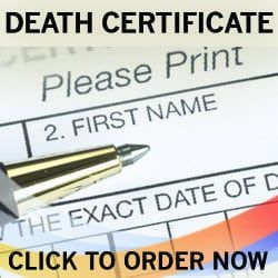 how to get a death certificate fake death certificate