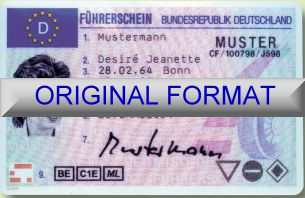 GERMAN DRIVER LICENSE ORIGINAL FORMAT, DESIGN SPECIFICATIONS, NOVELTY SECURITY CARD PROFILES, IDENTITY, NEW SOFTWARE ID SOFTWARE