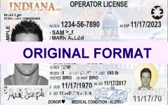 scannable fake indiana id cards fake id illinois